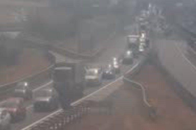 GRA, veicolo in panne tra Casilina e Appia oggi 10 ottobre 2019