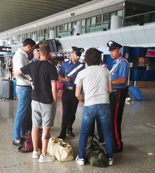 Fiumicino, quattro furti nei negozi dell'aeroporto e sette multe emesse vicino ai terminal