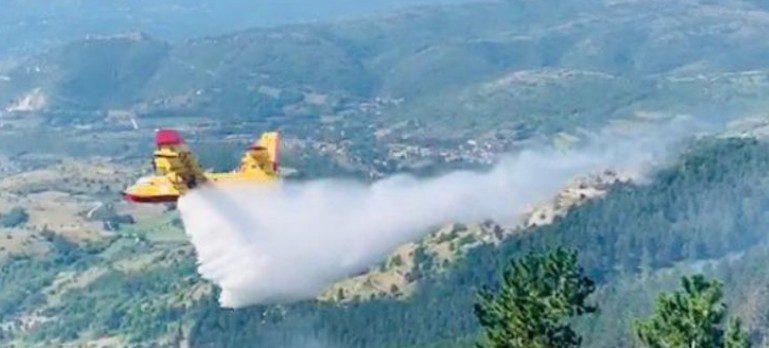 Lazio, verificate le procedure di geolocalizzazione. In corso controlli per l'incendio a San Donato Val di Comino