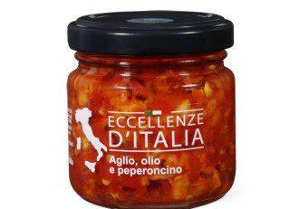 Eccellenze d'Italia Aglio, olio e peperoncino: lotto richiamato perché potrebbe contenere frammenti di vetro
