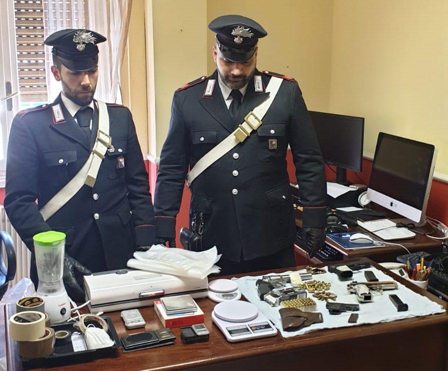 frascati armi munizioni illegali pensionato