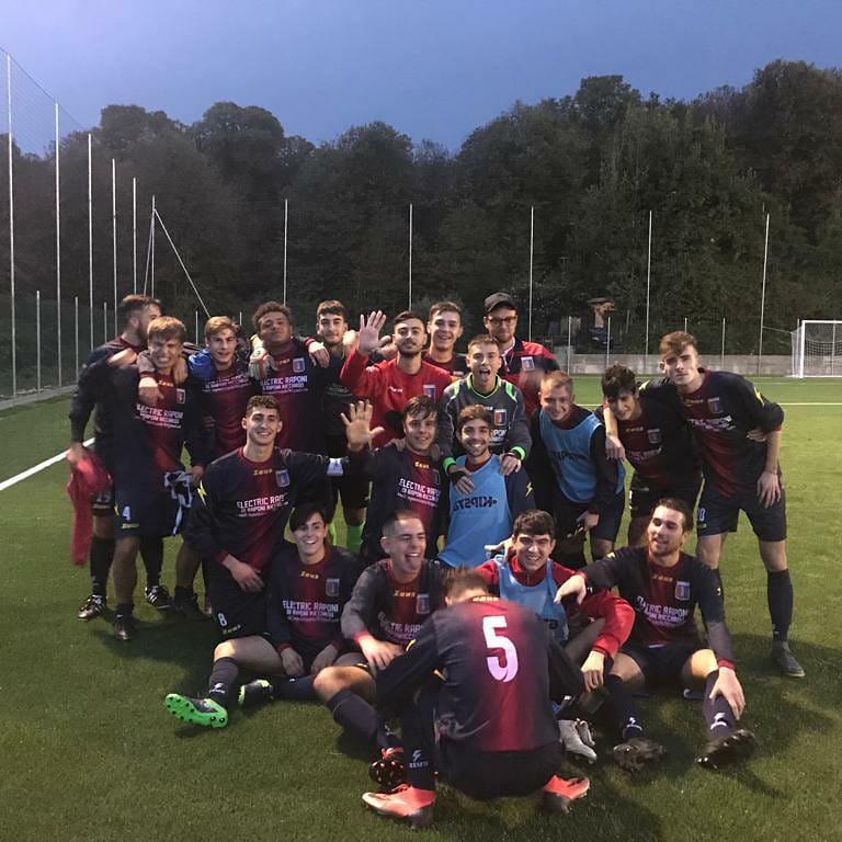 Rocca Priora, inizio di campionato: l'Under 19 batte il Consalvo 5-2
