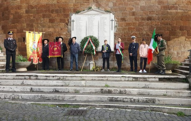 Valmontone, celebrato il Giorno delle Forze Armate e dell'Unità Nazionale