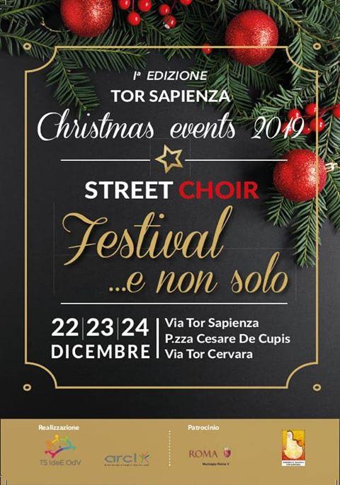 Tor Sapienza come New York: arriva lo Street Choir Festival il 22 dicembre 2019