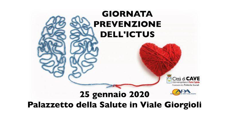 Cave giornata per la prevenzione dell'ictus sabato 25 gennaio 2020