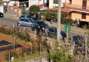 Colleferro-Artena, incidente oggi giovedì 16 gennaio 2020 al IV km