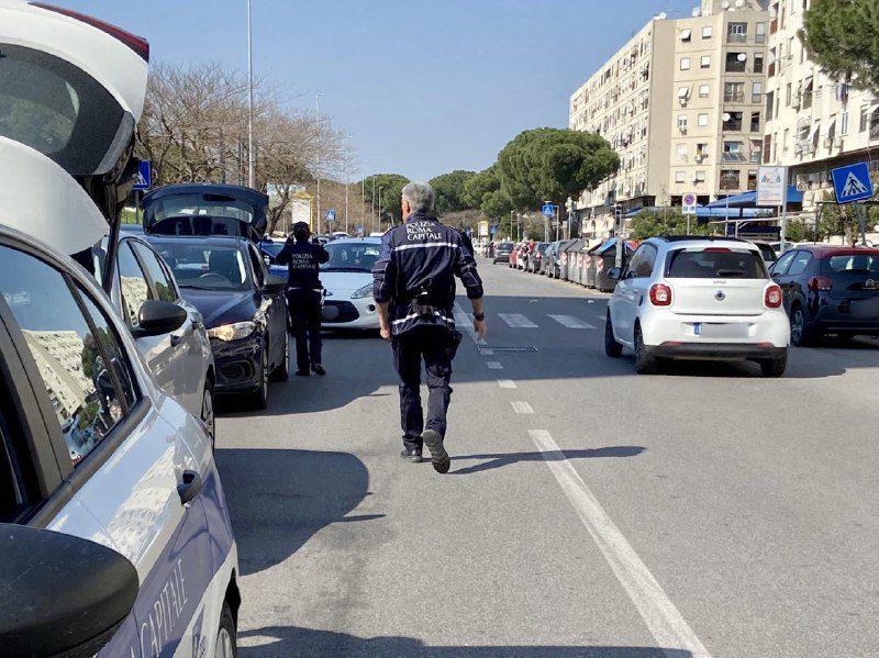 tor bella monaca opere abusive veicoli sequestrati