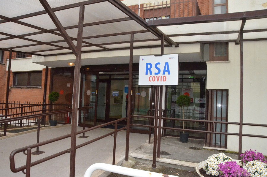 A Genzano la prima RSA Covid Pubblica del Lazio: attivo anche un servizio di videochiamate con i parenti