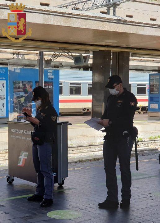 roma minore 15enne anzio rapina treno termini droga