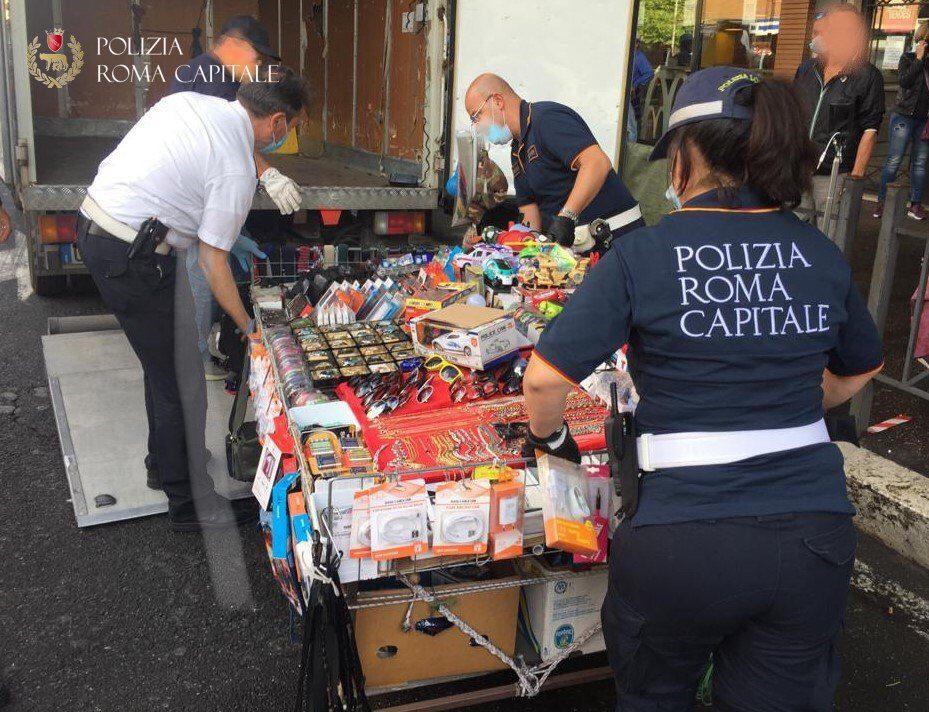 roma torpignattara bancarelle abusivi