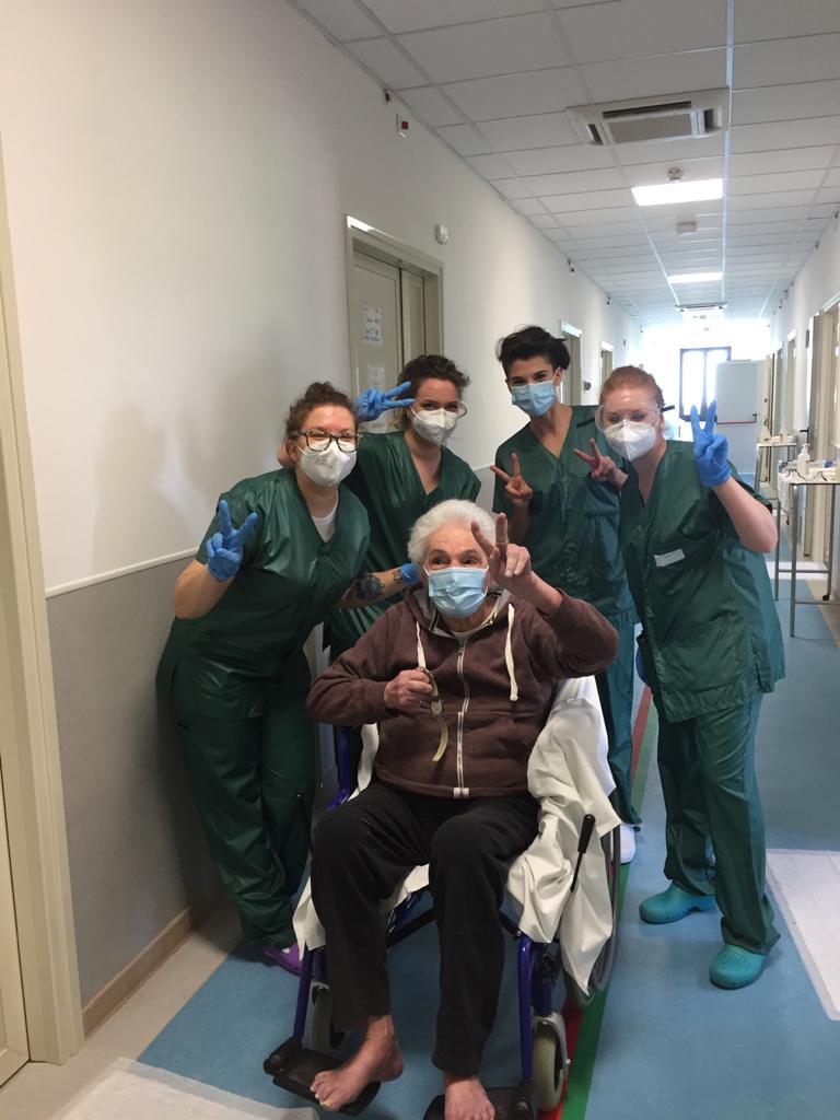 rsa covid genzano dimessa paziente