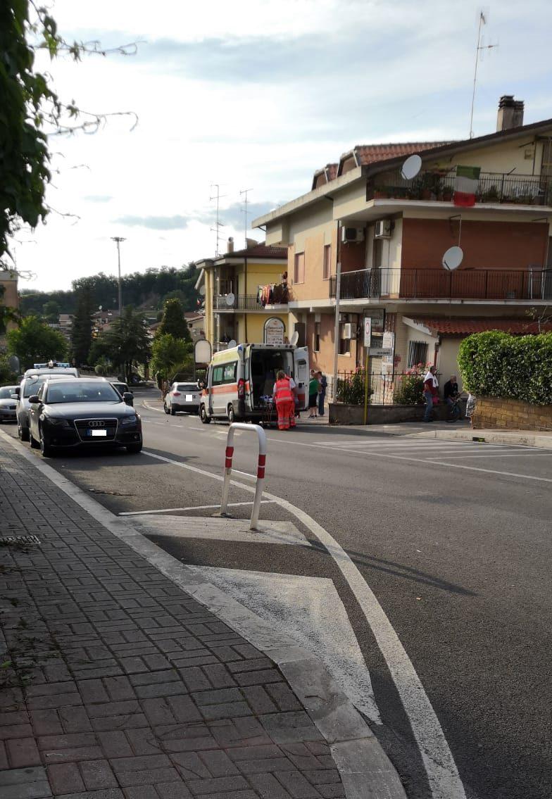 Incidente stradale a Colleferro: soccorsi sul posto. Ci sarebbe un ferito