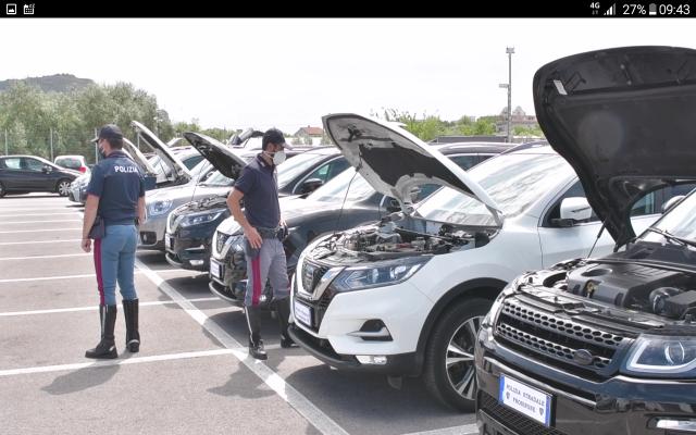 riciclaggio internazionale auto lusso frosinone cassino terracina