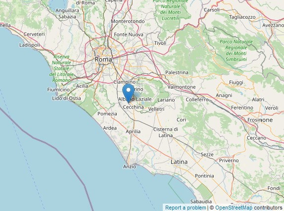 Albano Laziale scossa di terremoto di 2.3 nel pomeriggio di oggi 28 luglio 2020