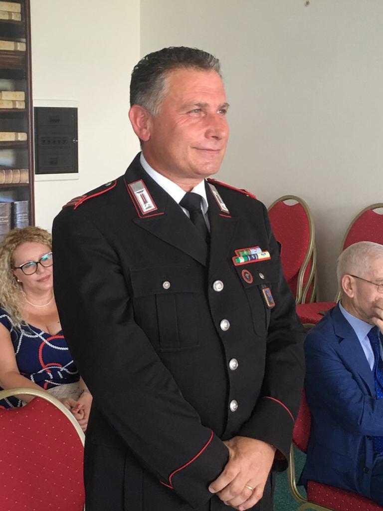 Arce, premiato il Comandante Evangelista: d'ora in poi si occuperà della caserma di Piedimonte San Germano