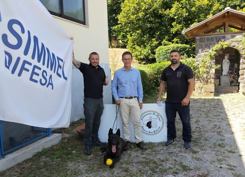 anagni addestramento cani per la ricerca di sostanze energetiche simmel difesa