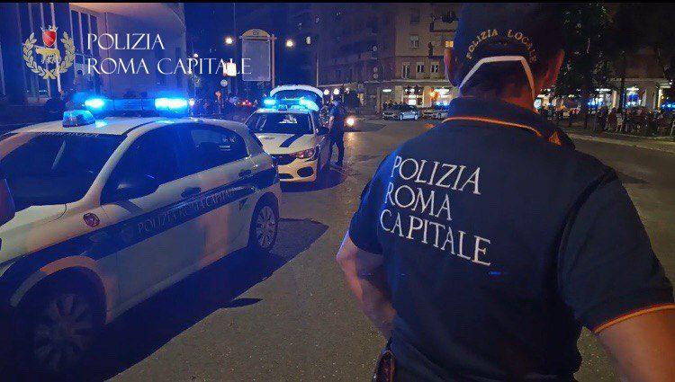 Roma, controlli anti movida del fine settimana: chiusi tre locali per assembramenti