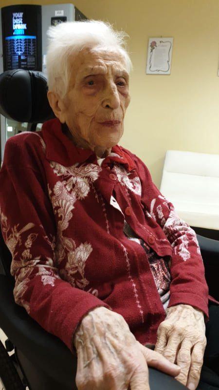 Sora, tanti auguri a Elvira Lanetta: il 2 settembre 2020 spegnerà 100 candeline