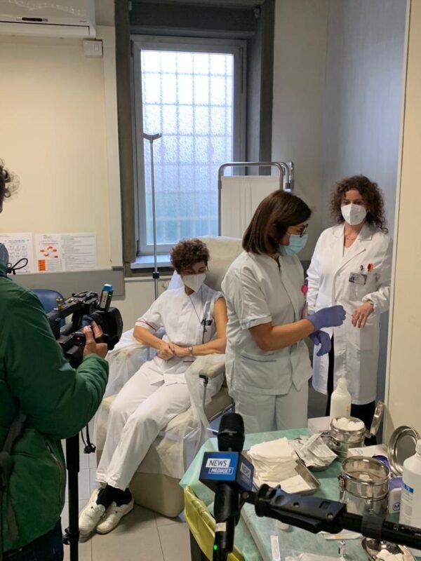 Coronavirus, iniziate le prime vaccinazioni tra Roma, Rieti e Viterbo: ecco come sta andando
