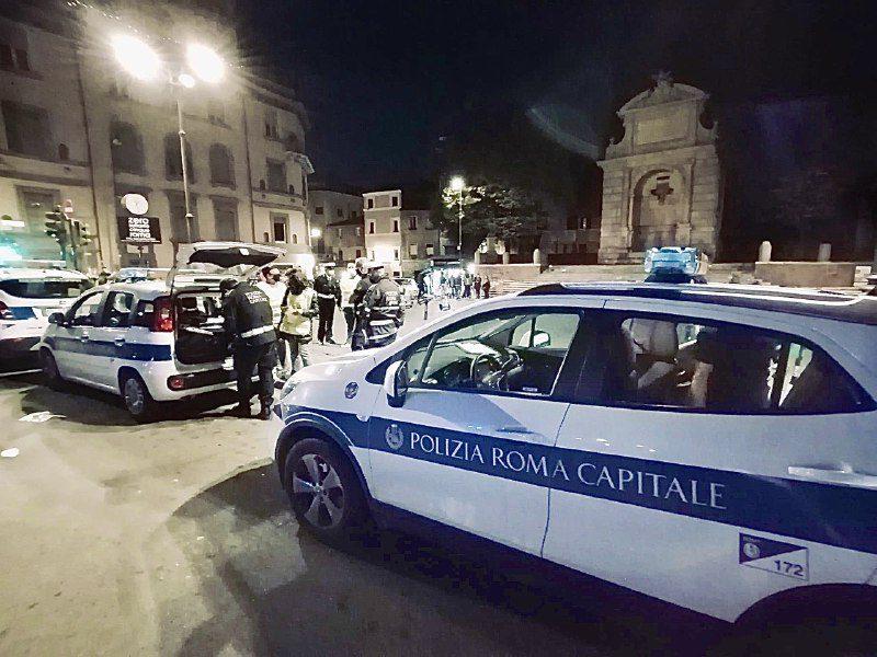 Piazza Bologna, Trastevere, San Lorenzo, Testaccio e Monti tra assembramenti e multe. Sanzioni anche per per un minimarket a Termini e una palestra