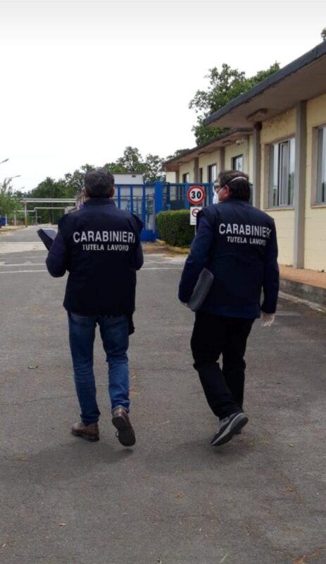 Contrasto al lavoro nero tra Atina, Villa Latina, Ceprano, Pontecorvo, Fiuggi, e Anagni: multe per 7400 euro
