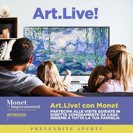 Art.Live, nasce il nuovo format per fare visite guidate ai musei... da casa