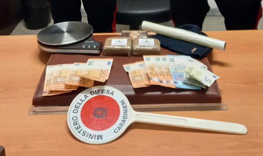 Task-force antidroga dei Carabinieri a Roma: centinaia di dosi sequestrate