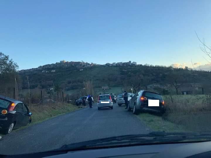 incidenti colleferro via latina carpinetana oggi 26 gennaio 2021