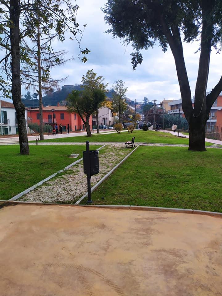 Paliano, inaugurato il parco comunale dedicato a Willy. Le foto e le dichiarazioni del sindaco Alfieri