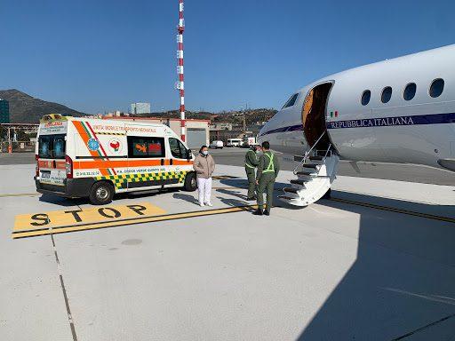 Aeronautica, trasporto sanitario. Da Catania a Genova per salvare una futura mamma