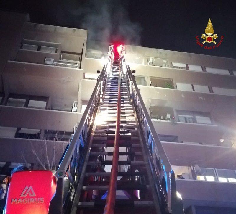 serpentara incendio appartamento palazzo