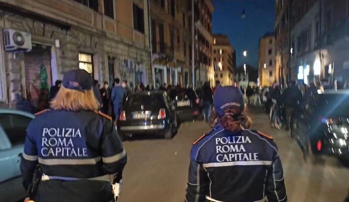 Roma, mare di multe per mancato rispetto anti-Covid da parte di persone e gestori di locali