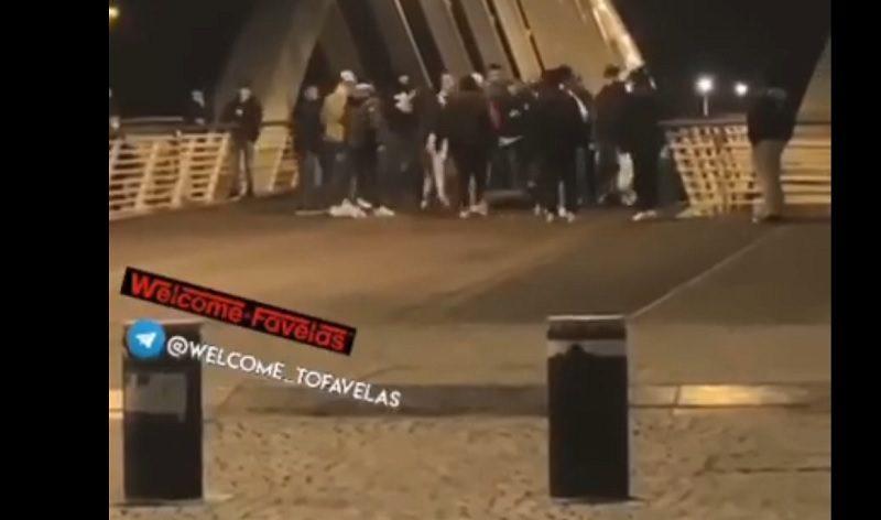 roma ponte della musica rissa giovani