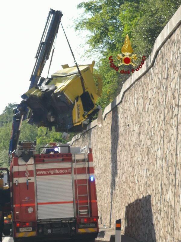 Incidente Autostrada A1 oggi tra Roma Nord Ponzano Romano oggi