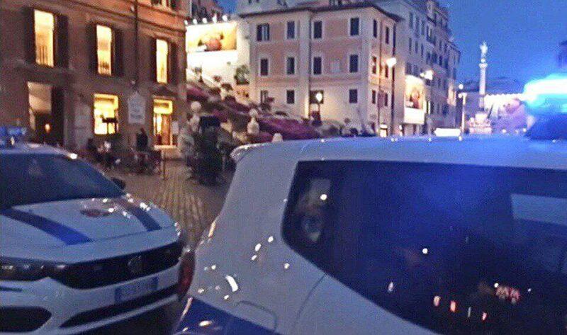 Centro storico di Roma e zone della Movida: week-end passato a disperdere gli assembramenti. Vigilanza rafforzata sulle zone del lungomare