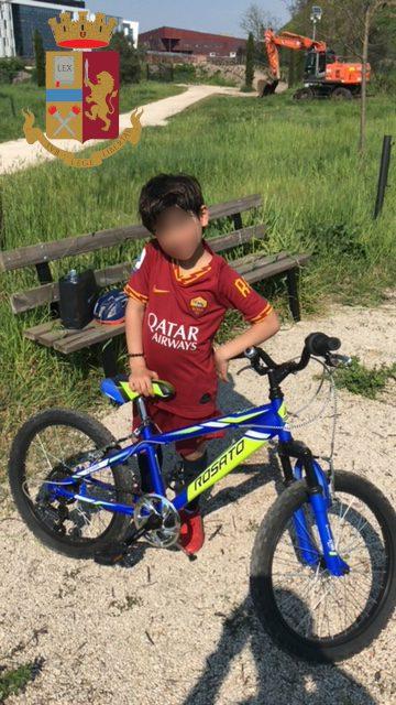 Eur. Ritrovata dalla Polizia la bicicletta rubata nella notte ad un bambino di 8 anni