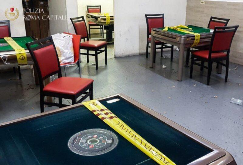 torpignattara bische clandestine gioco azzardo illegale